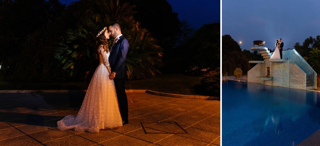 sessione fotografica di coppia matrimonio andrea e cristina villa valenca
