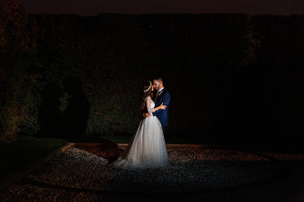 foto coppia notte andrea e cristina