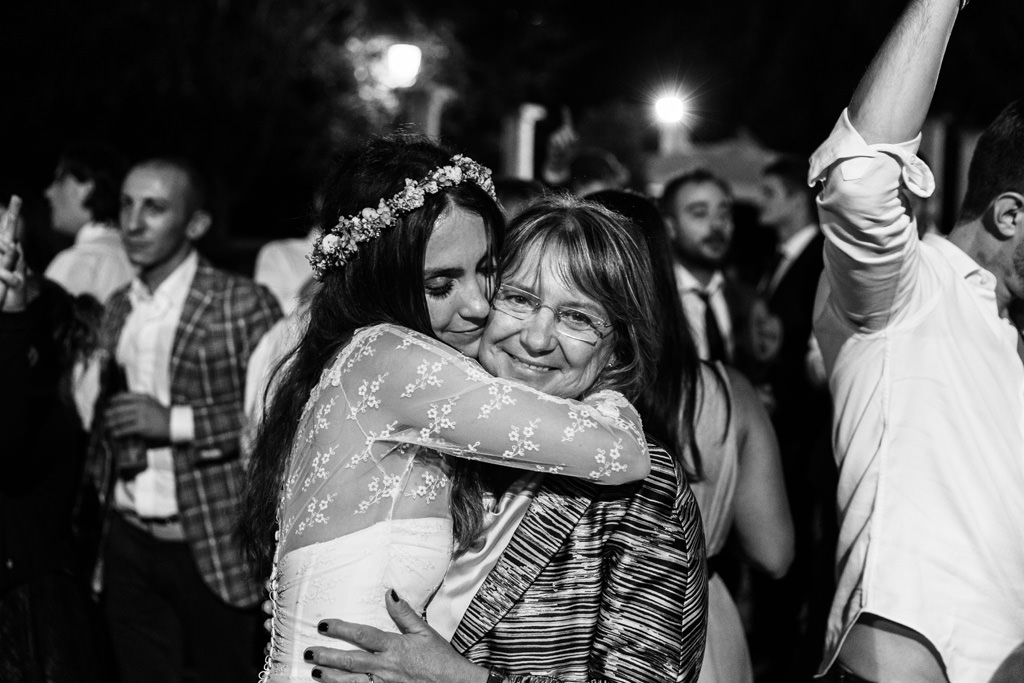mamma sposa matrimonio andrea cristina