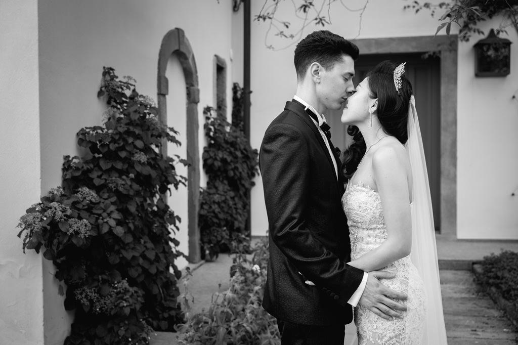 Sposi che si Baciano Reportage