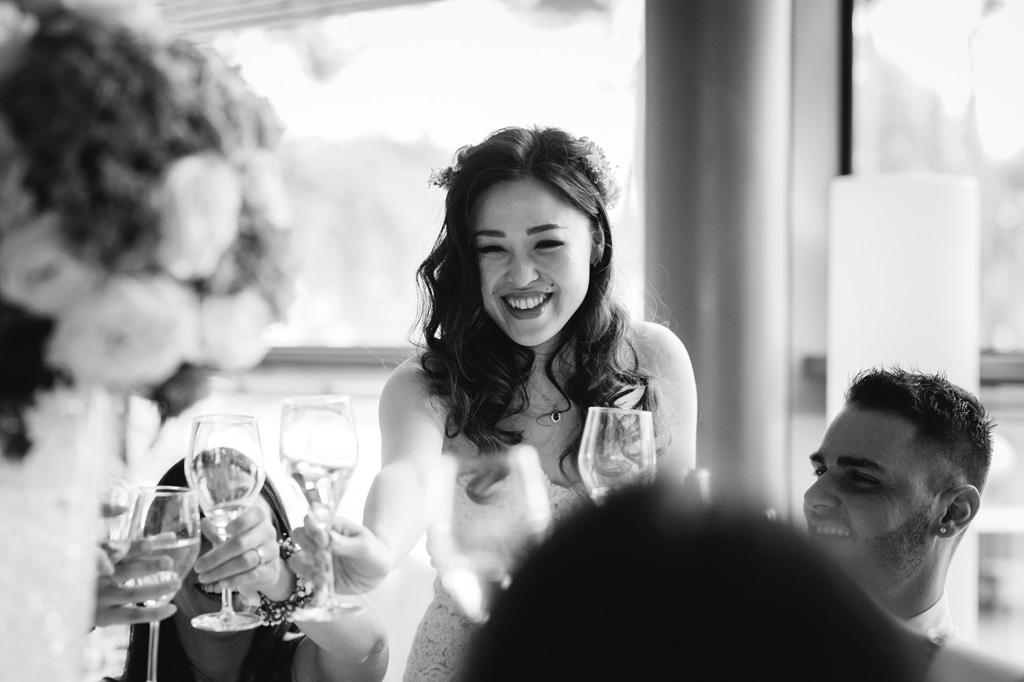 Sposa con Calice - Foto di Reportage