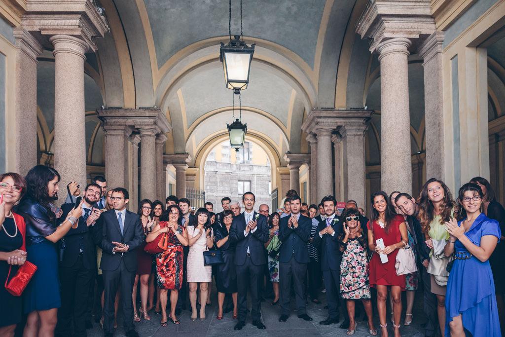 Foto di Famiglia Matrimonio Milano
