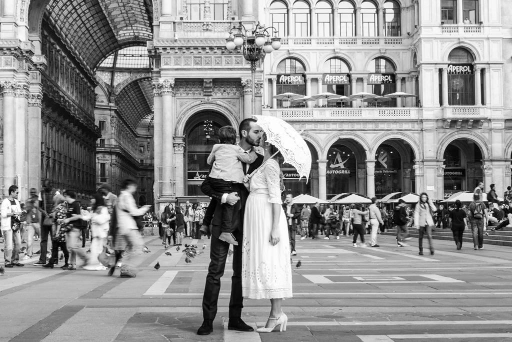 Foto Sposi Duomo Milano