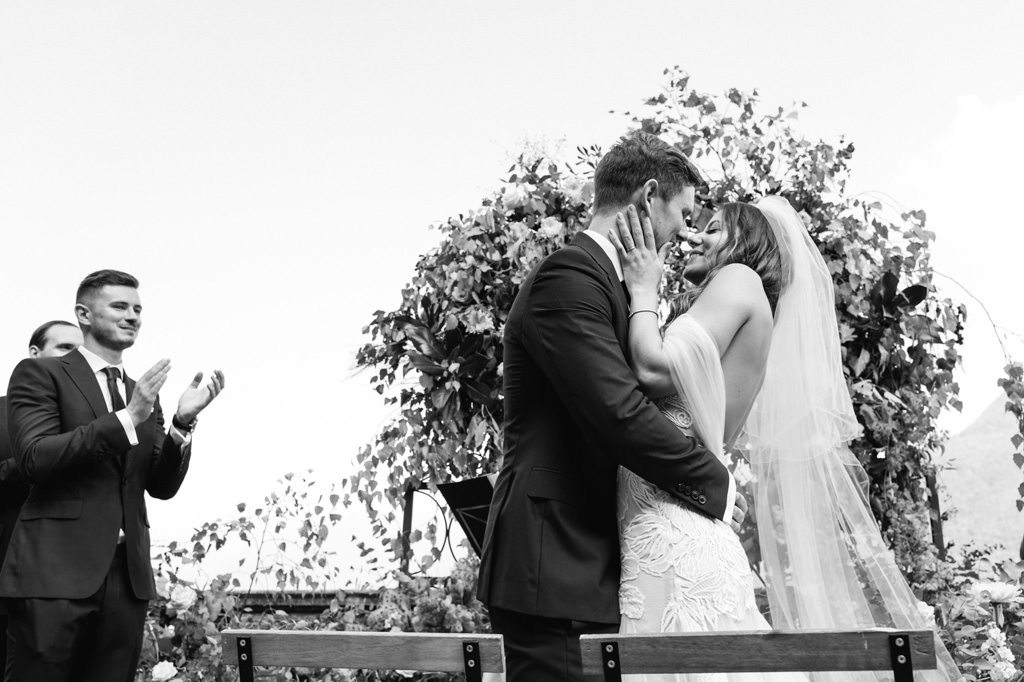 Bacio degli Sposi Reportage di Matrimonio Milano