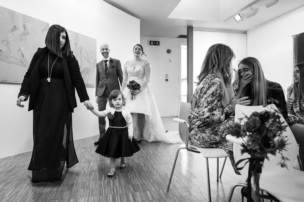 Arrivo della Sposa Foto di Reportage Matrimonio