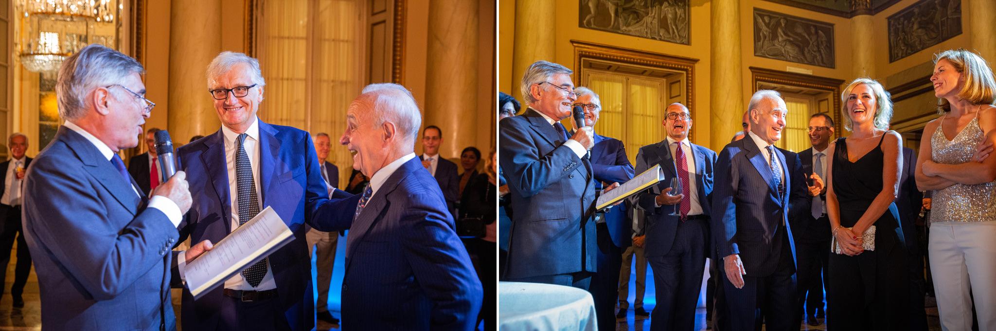L'avvocato Enrico Raffaelli invita tutti i componenti dello studio legale per congratularsi