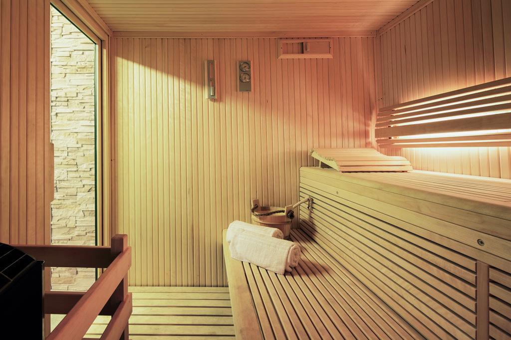 foto sauna interno